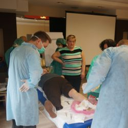 Zajęcia praktyczne - larwoterapia